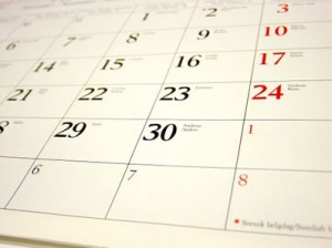 Calendaring:  How I Do It