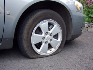 Flat tires and flexible schedules
